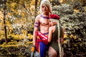 Cammy and Vega by maxwellWhavok