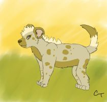 Hyena OC by PineappleAddiction