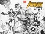 Avengers Sketch Cover2 by JASONS21