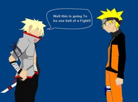 Kai v.s. Naruto : contest entry by EP-EpicSlave