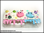 Dango 3DS Case by GrandmaThunderpants