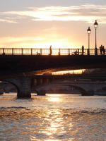 On the Seine by therampantbookworm