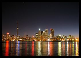 Toronto Skyline by martinshiver