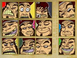 Battle King Emotions by Monotypical