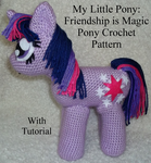 MLP: FiM Pony Crochet Pattern (with Tutorial) by CuriousPony