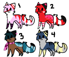 NEW and CHEAP cat adoptables! CLOSED by AmazingAdoptablez