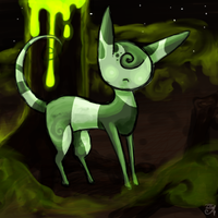 Eyeless cat by nuttycoon