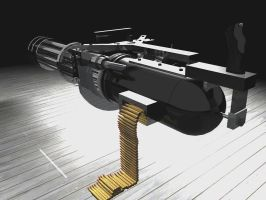 Gatling Gun Complete 2 by DAVEAC1117