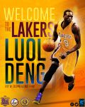 Welcome to the Lakers Luol Deng by YaDig