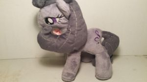Kain's Octavia plush first try by Fanglore-and-Kain