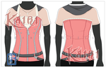 Commission: Kairi Cosplay T-shirt by BurningArtist