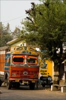 Colourful India by Cleonor