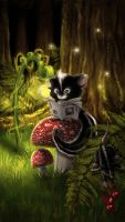 .:in the forest:. by DanielaUhlig