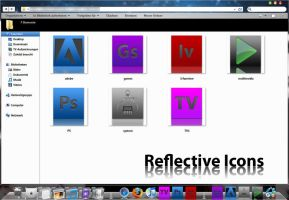 Reflective icons by ChrisUnger