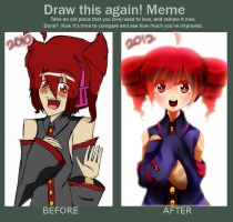 Meme: Before and After by toryou