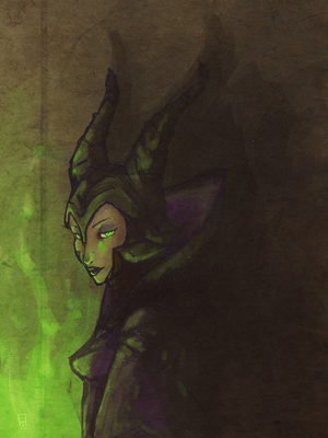 Maleficent by ego-m