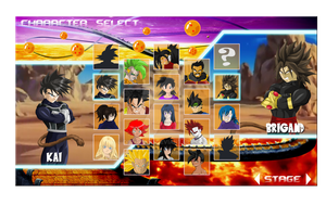 DBZ OC Battle Royale....console Style by DBZOC-Kai