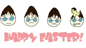 Happy Easter ::HP:: by searas