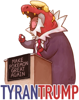 Tyrantrump by Ry-Spirit