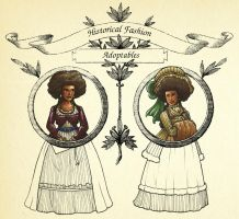 OPEN Historical Fashion Adoptables set 1 by jamberry-song