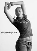 Black Girls Rule: Chasity Deux by evolutionsky