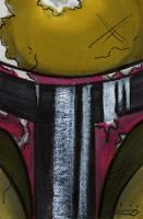 Fett - sketch card by blue-but-beautiful