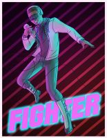 Fighter! by xMyxDreamlandx