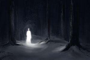 White Forest 30 Minute Speedpaint by theartofTK