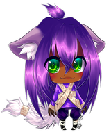 Chibi Commission example 2 by Saige199