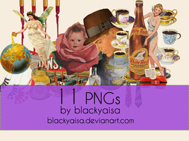 PNG Pack # 05 by blackyaisa