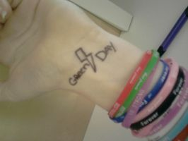 Another Green Day tatto :) by ElfishDrawn