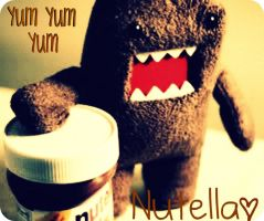Domo With Nutella by iKath