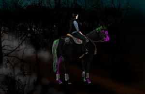 Lost-N-Haunted-HARPG WBS Beyond Greed by angry-horse-for-life
