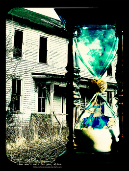 Time won't wait for you, Alice by chericola
