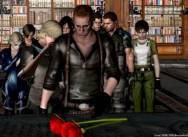 RIP Albert Wesker by WolfShadow14081990