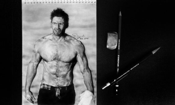 Hugh Jackman by enigmatic-freak