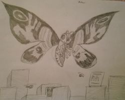 Mothra by SuperFIFIBros