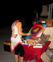 July 20, 2012 - while painting by ClairesDreams