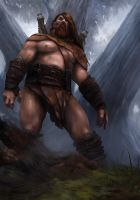 Barbarian by ilkerserdar