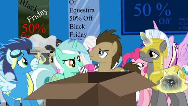 Black Friday in a nutshell ponified02 (Animated) by FlintEXP