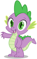 Spike - Wave from Group Shot by CaliAzian