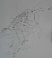 Eros and Psyche - WIP by I-TsarevichAlexei13