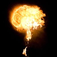 29 Fireball of Flame Fire by Archangelical-Stock