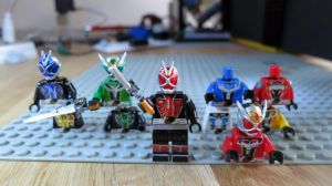 LEGO Kamen Rider Wizard Flame Dragon by Digger318