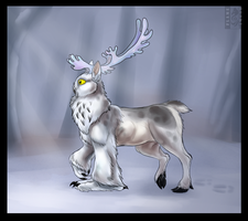 Pearl of the northern forests by Husky-Foxgryph