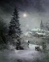 PREMIUM background - Christmas Time4 by Euselia