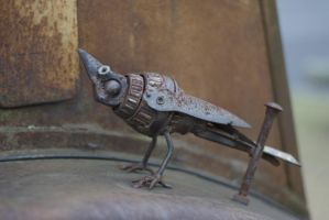Steam Punk Bird by unifx