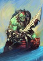 Orc warrior by AlexBoca