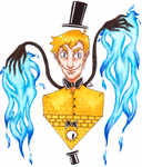 Bill Cipher by im-a-nobody