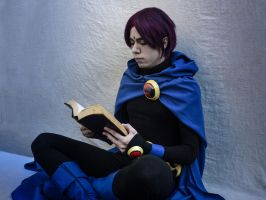 Raven genderbend from Teen Titans cosplay by Reneks